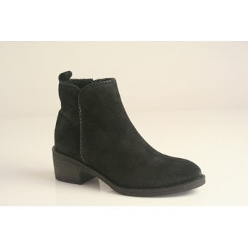 Alpe Black suede Ankle Boot (NT3)