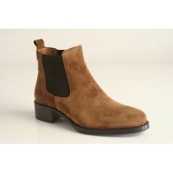 Alpe Chestnut suede Ankle Boot (NT11)