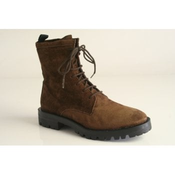 Alpe Chestnut suede lace-up boot (NT10)