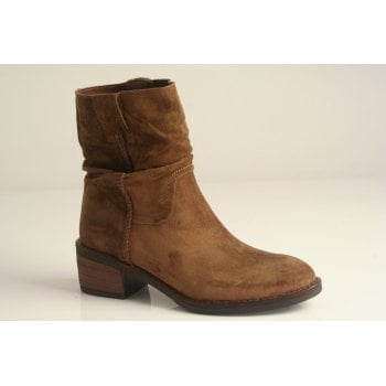 Alpe Tan suede slouch ankle boot (NT8)
