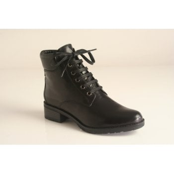 "Canal Grande style ""Bipi"" black lace-up ankle boot   (NT6)"