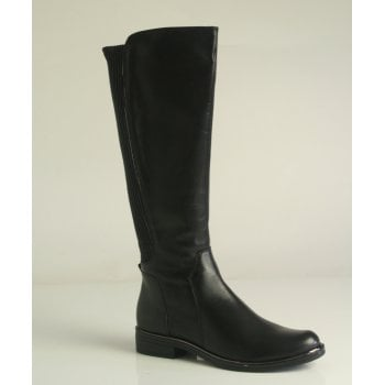 Caprice Caprice Black knee length nappa leather Boot (NTLB5)