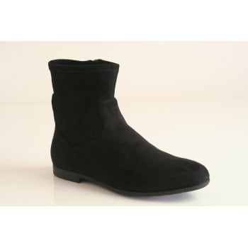 Caprice black stretch ankle boot (NT B23)