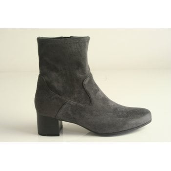 Caprice Blimotion Grey Stretch Ankle Boot (NT SB60)
