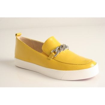 Caprice lemon naplak slip on shoe (NT43)