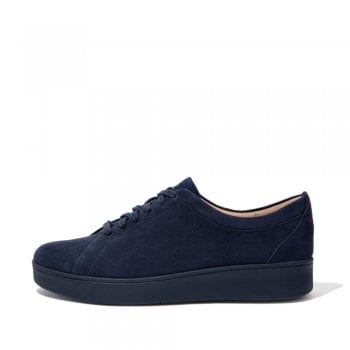 FitFlop™ style 'Rally' Midnight Navy suede sneaker with Anatomicush technology  (NT)