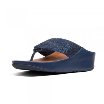FitFlop™ Fitflop style 'Twiss Crystal' toe post' sandal