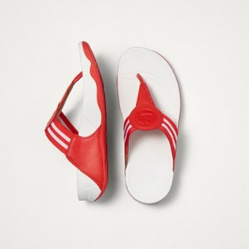 Fitflop style 'Walkstar Toe-Post Sandal' Red (DX4-002)
