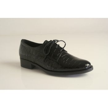 Gabor lace-up shoe in croc print   (NTA)