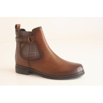 Gabor Saddle leather ankle boot.  (NTB6)