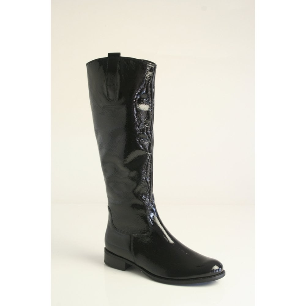 gabor patent boots purchase 877bb 0f099