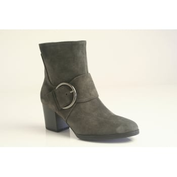 Gabor style 'Lush' in grey suede leather   (NTB40)