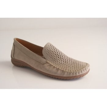 Gabor style 'Sharona' nubuck leather moccassin