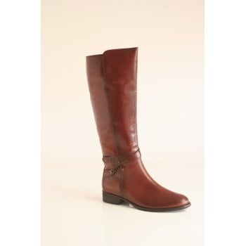 Gabor Tan leather knee high boot (NTLB18)