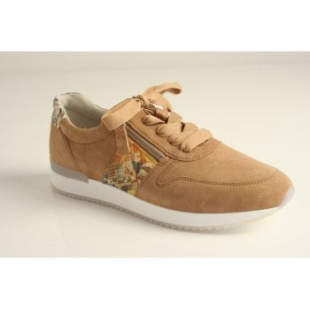 Gabor trainer style in caramel tan  (NT77)