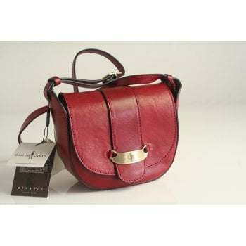Gianni Conti handbag style 3504257 in high grade red leather