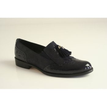 HB HB Espana navy patent leather brogue   (NT8)
