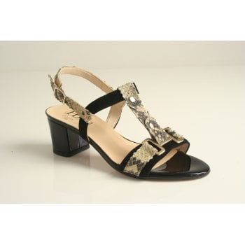 HB Italia leather t-bar sandal   (NT93)