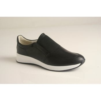 Hogl black leather sneaker (NT36)