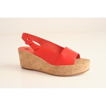 Hogl wedge sandal with cork wrap  (NT27)