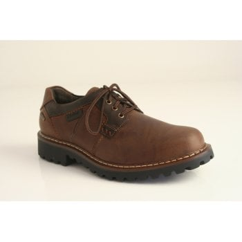 Josef Seibel Josef Seibel™ style 'Chance 08' brown leather lace up with 'TopDryTEX' technology