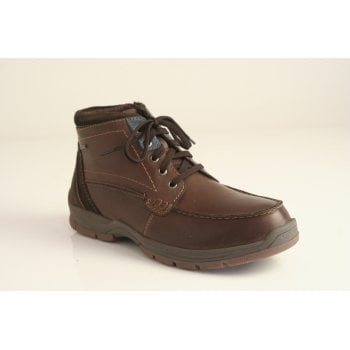 Josef Seibel Josef Seibel™ style 'Lenny 50' brown leather lace up boot  (NT38)