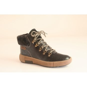 Josef Seibel style 'Maren 17' black lace up boot.  (NTB6)