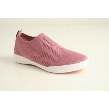 Josef Seibel style 'Sina 64' Rosa/Pink slip on knitted casual sporty trainer shoe (NT 92)