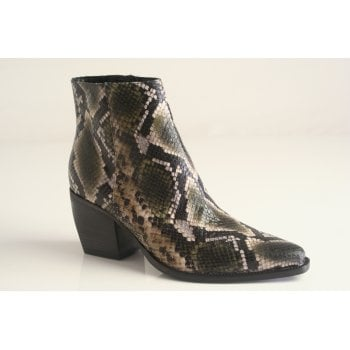 Kennel & Schmenger kennel ans Schmenger Snakeskin print Leather ankle boot