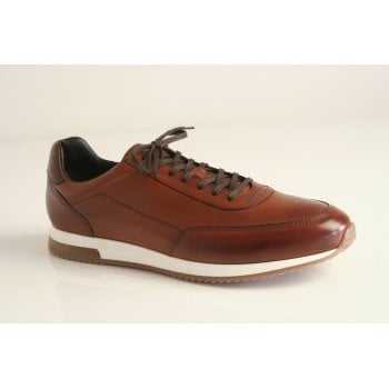 "Loake style ""Bannister CD"" in cedar calf leather"