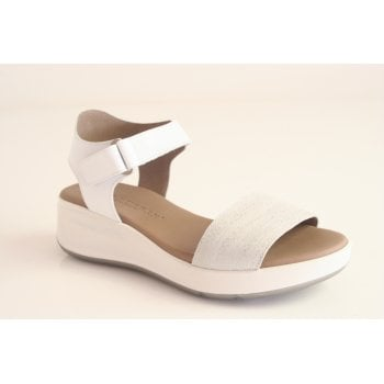 Paula Urban white leather sandal  (NT3)
