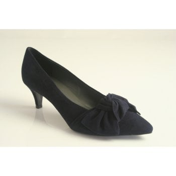 Peter Kaiser 'Carry' Navy suede shoe  (NT38)