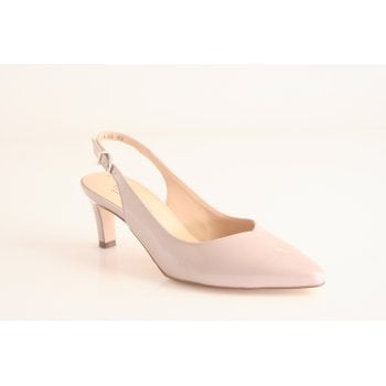 Peter Kaiser 'Medana'  light mauve patent leather sling back shoe. (NT62)