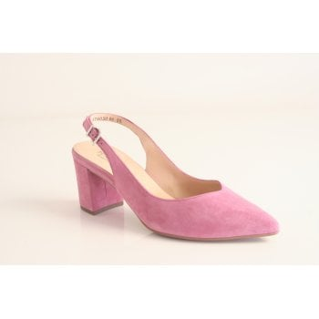 Peter Kaiser 'Nexy' cassis suede leather sling back shoe. (NT63)
