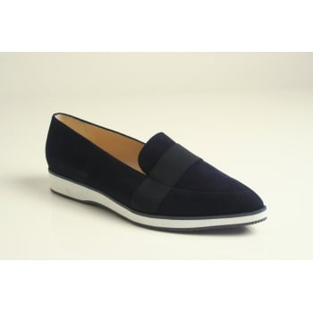 Peter Kaiser style 'Cecilia' soft blue suede leather shoe   (NT74)