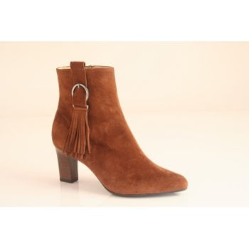 "Peter Kaiser style ""Monic"" Tan suede ankle boot (NTB16)"
