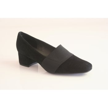 "Peter Kaiser Peter Kaiser style ""Paloa"" black suede leather shoe"