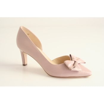 Peter Kaiser Peter Kaiser style 'Rosella' leather court shoe in nude pink (NT48)