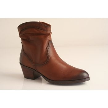 Pikolinos cowboy style tan leather boots (NT B5)