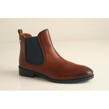 Pikolinos cuero tan leather chelsea boot  (NT B2)