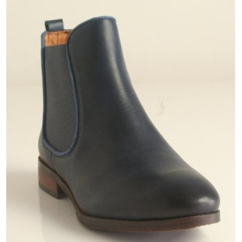 Pikolinos 'Royal' Blue leather chelsea boot  (NT27)