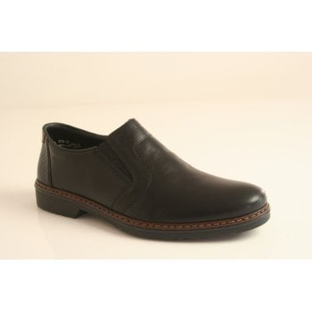 Rieker black slip-on shoe (NT53)