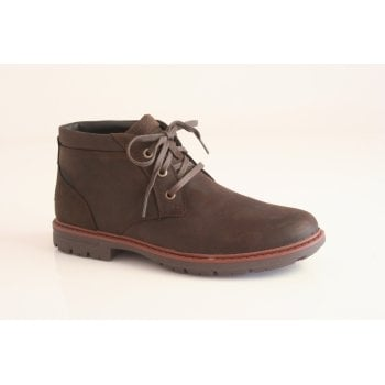 Rockport style 'Tough Bucks Chukka' brown leather waterproof boot