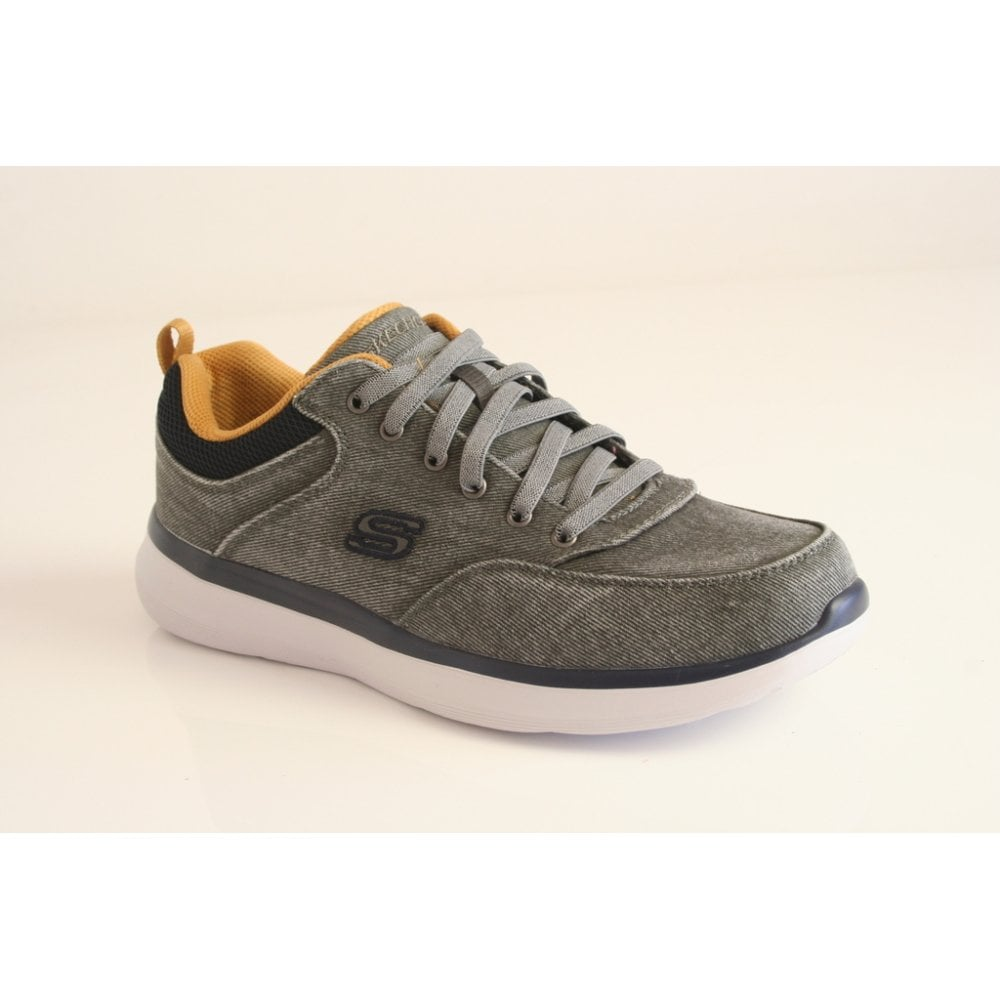 Encantador pedestal cien  Skechers Skechers Streetwear Air-cooled Memory Foam lace up. 210024/CHAR  (NT9) - Skechers from Nicholas Thomson UK