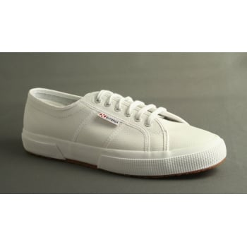 Superga style 2750 EFGLU in white leather