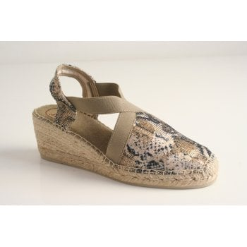 Toni Pons style 'Terra-MB' espadrille in taupe (NT25)