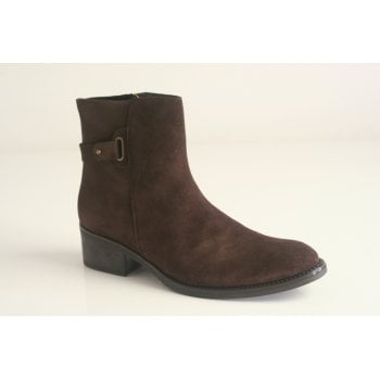 Toni Pons style Terry SY, Brown suede ankle boot (NT1)