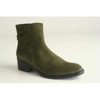 Toni Pons style Terry SY, Khaki suede ankle boot (NT2)