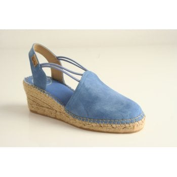Toni Pons style 'Tremp' espadrille in Blue (NT31)