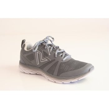 "Vionic trainer style ""Miles"" in grey fabric.  (NT4)"